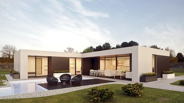 nowoczesne budynki z prefabrykatów