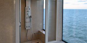 Uchwyt do kabiny prysznicowej