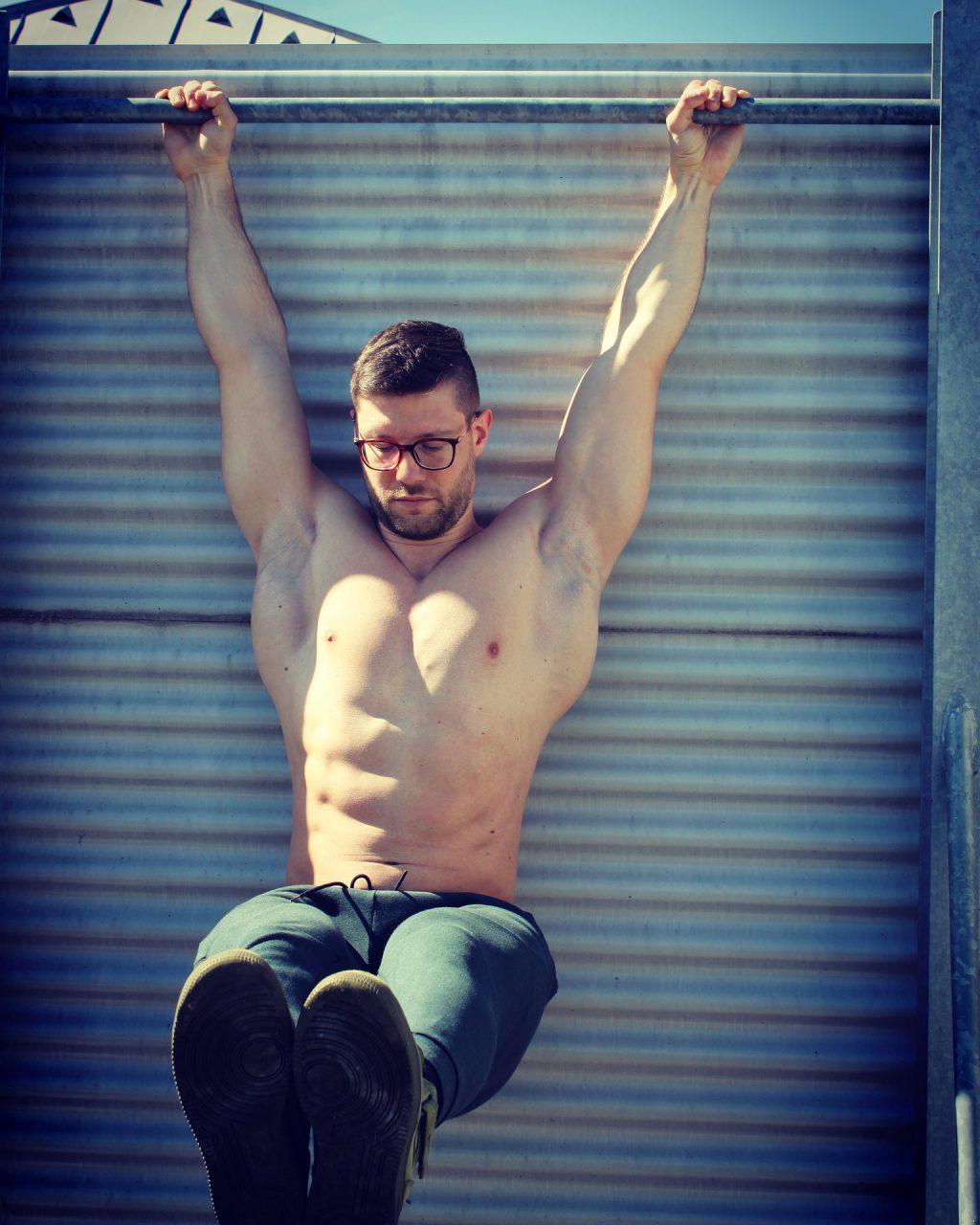 cwiczenia w siłowni zewnetrznej